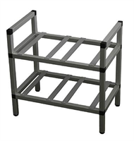 BIB-rack -2-shelf, undercounter
